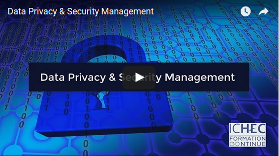 Nouvelle formation: Data Privacy & Security Management