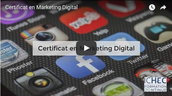 Nouvelle formation: Certificat en Marketing Digital
