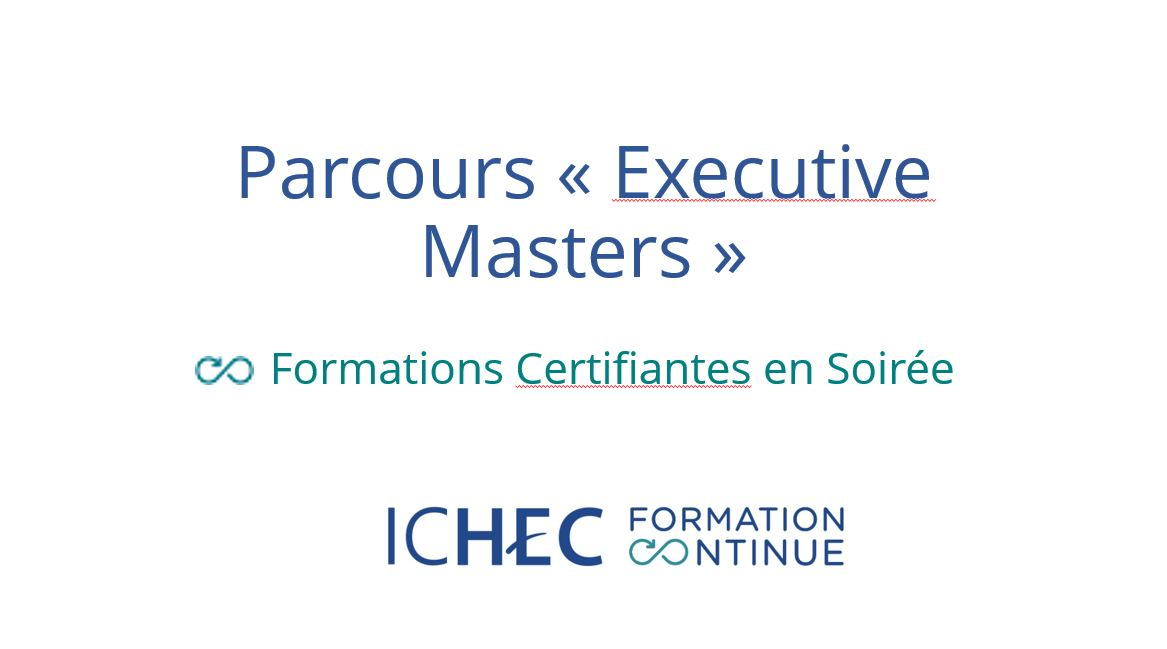 Programme Executive Master - Ressources Humaines